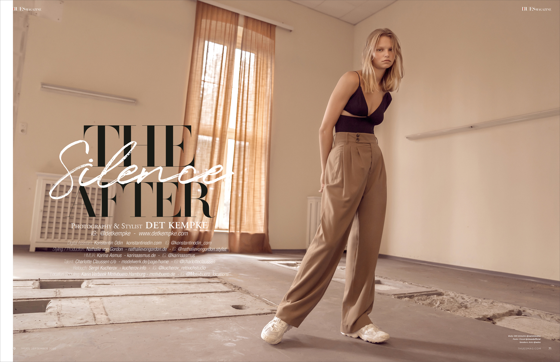 The Silence After 7Hues Magazine Mode ´54 September 20